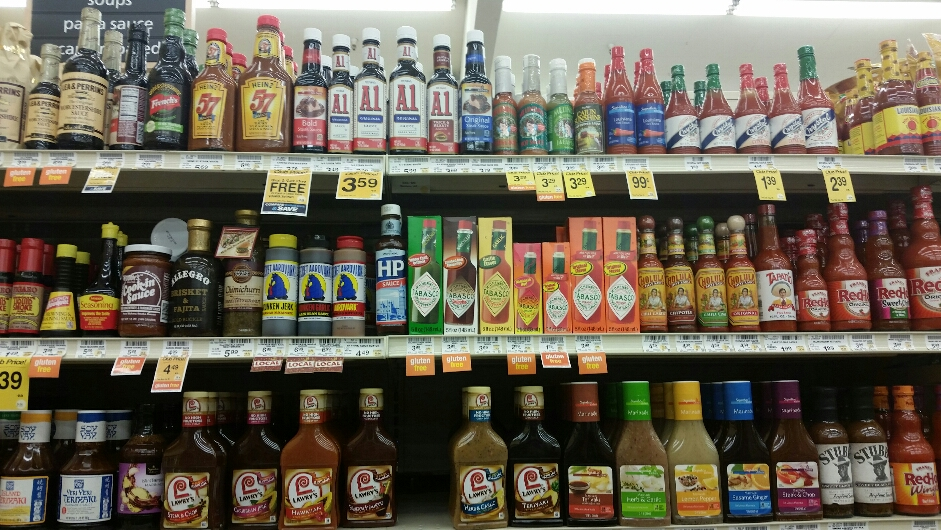 Hot Sauce Aisle