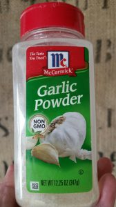 Garlic Powder That's Not too Fine