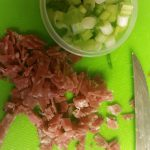 Green Onions and Salami