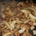 Pan Fried Steak and Onions