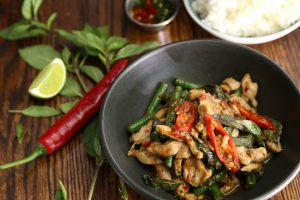 Spicy Thai Food