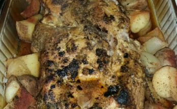 Simple Oven Baked Pork Roast